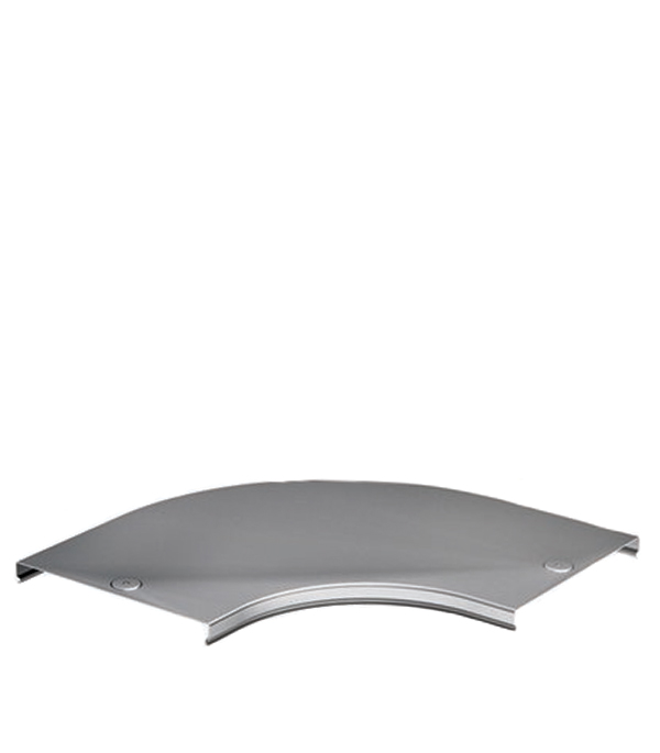 Крышка на угол горизонтальный 90° ДКС для лотка 150х50 мм ответвитель т образный горизонтальный для лотка 200х50 дкс