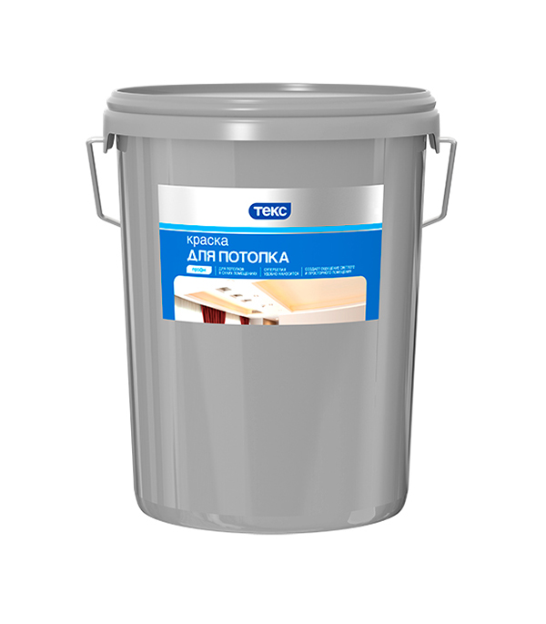 Краска водно-дисперсионная для потолка Текс Профи белая 25,2 л