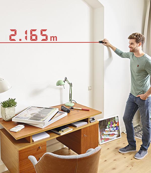 Дальномер лазерный Bosch Zamo III SET (603672701) 20 м