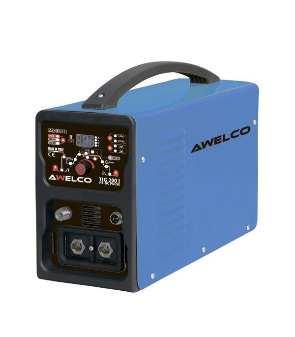 Фото - Сварочный аппарат инверторного типа Awelco TIG 200 HF PULSE (58195RP) для аргонодуговой сварки MMA/TIG tig 200 dsp