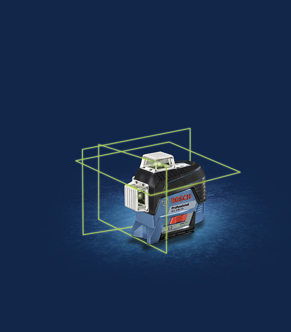Нивелир лазерный Bosch GLL 3-80CG Professional (0601063T00) с держателем BM1