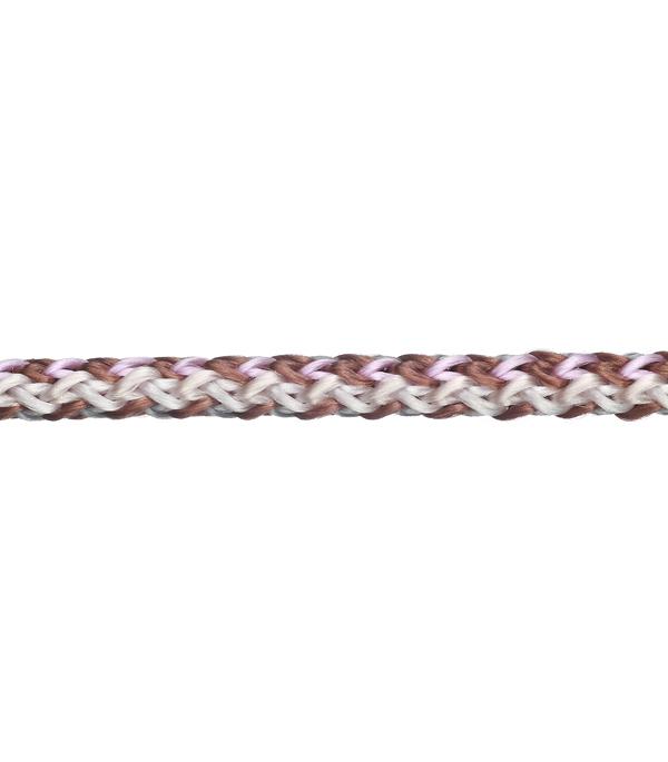 Шнур вязанный полипропиленовый 8 прядей d5 мм 15 м повышенной плотности