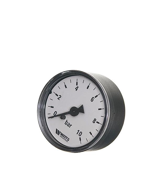 Манометр аксиальный Watts 1/4 нар(ш) 10 бар d50 мм цена