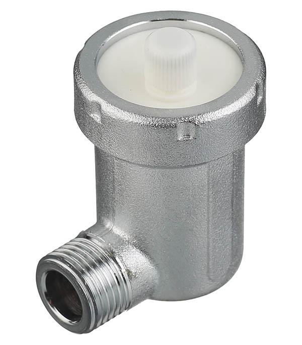 Воздухоотводчик автоматический Far (FA 2060 12) угловой 1/2 НР(ш) клапан предохранительный автоматический far fa 2004 121260 1 2 нр ш х 1 2 вр г 6 бар для систем отопления
