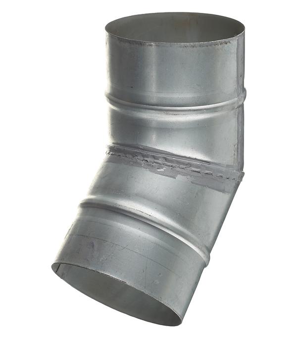 Отвод для круглых воздуховодов оцинкованный d100 мм на 45° цена 2017
