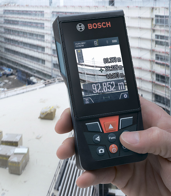 Дальномер лазерный Bosch GLM 120 C Professional (0601072F00) 120 м