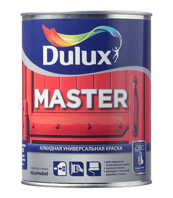 Эмаль алкидная Dulux Master 30 основа BW полуматовая 1 л цена в Москве и Питере