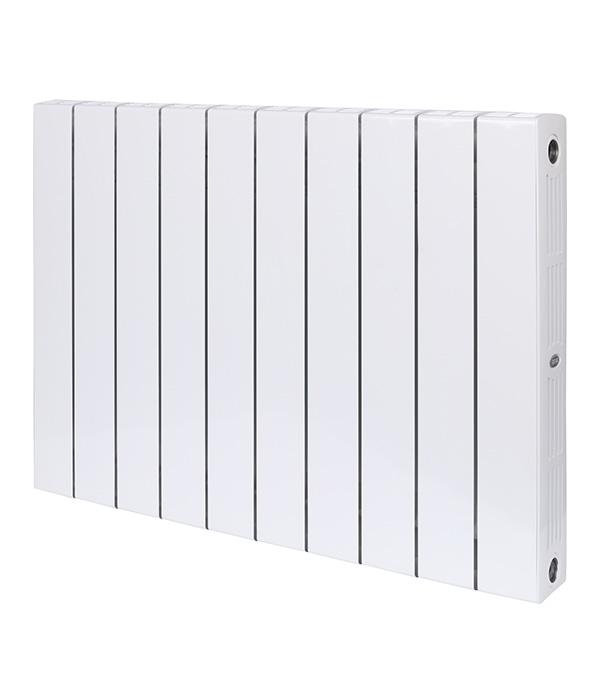 Радиатор биметаллический Rifar Supremo 500 мм 10 секций 3/4 боковое подключение белый биметаллический радиатор rifar рифар b 500 нп 10 сек лев кол во секций 10 мощность вт 2040 подключение левое