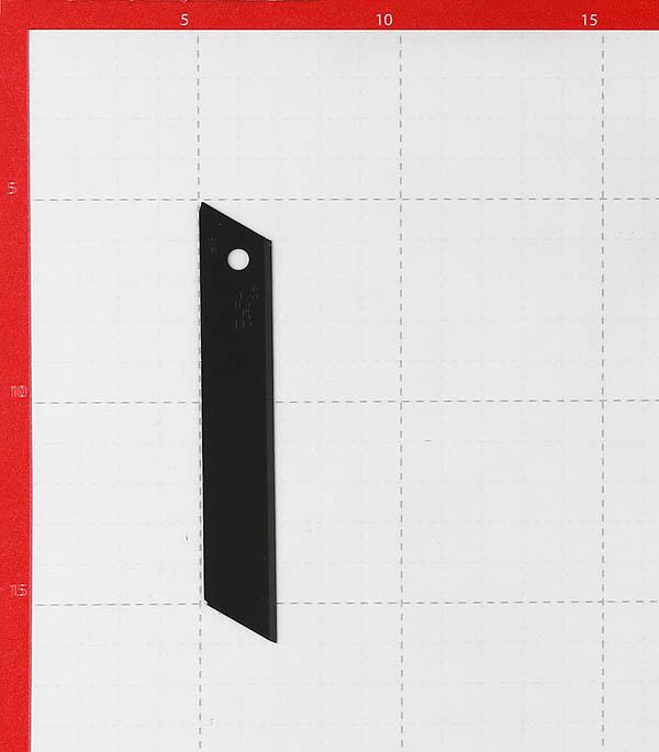 Лезвие для ножа Olfa 18 мм прямое (10 шт.) титановое покрытие фото