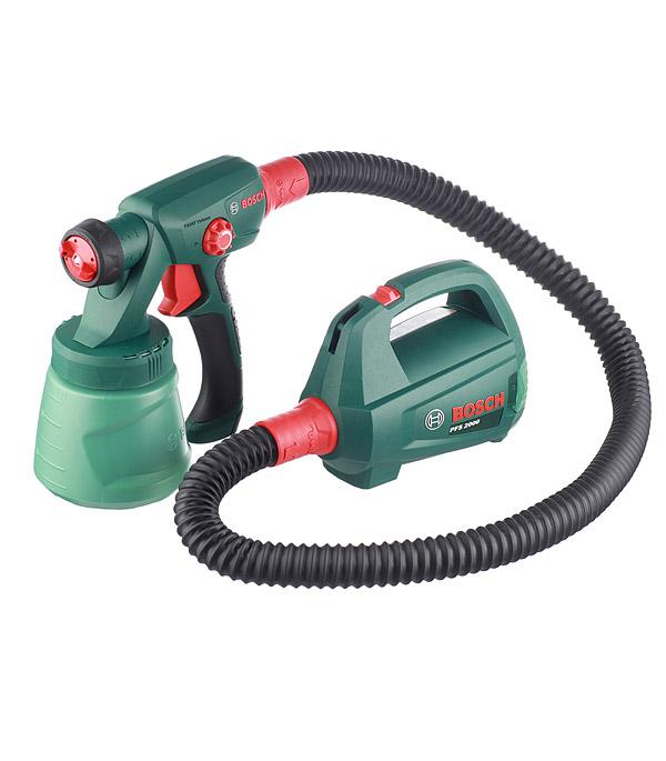 Электрический краскопульт Bosch PFS 2000 440 Вт 800 мл цена и фото