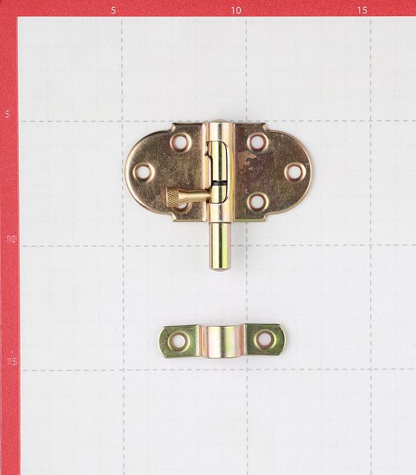 Шпингалет GAH ALBERTS пружинный 60 мм оцинкованный