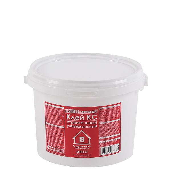 Клей строительный КС Bitumast 3 кг клей строительный боларс кс 9 кг