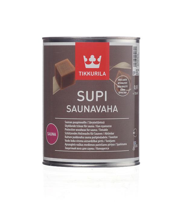 Антисептик Tikkurila Supi Saunavaha для бань и саун бесцветный 0,9 л стоимость