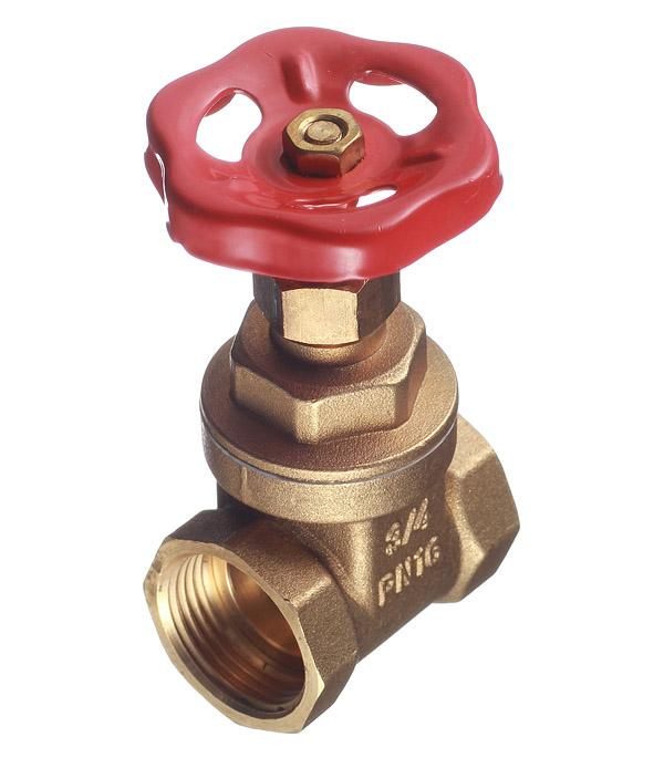 Задвижка клиновая латунный Valtec (VT.012.G.05) 3/4 ВР(г) х 3/4 ВР(г) вентиль
