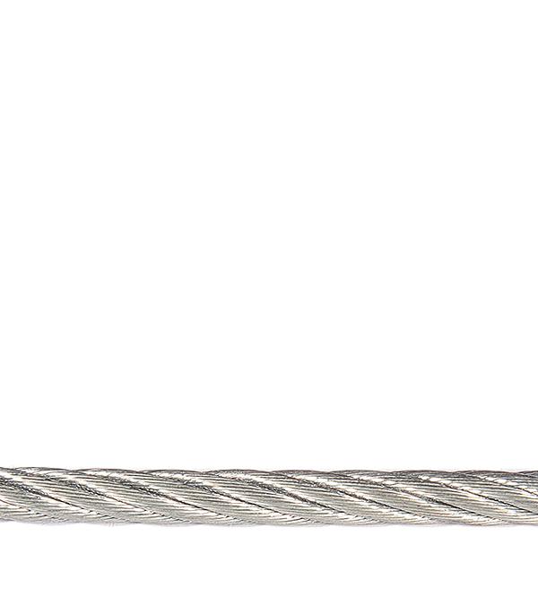 Купить Трос стальной оцинкованный d6 мм DIN 3055, Сталь