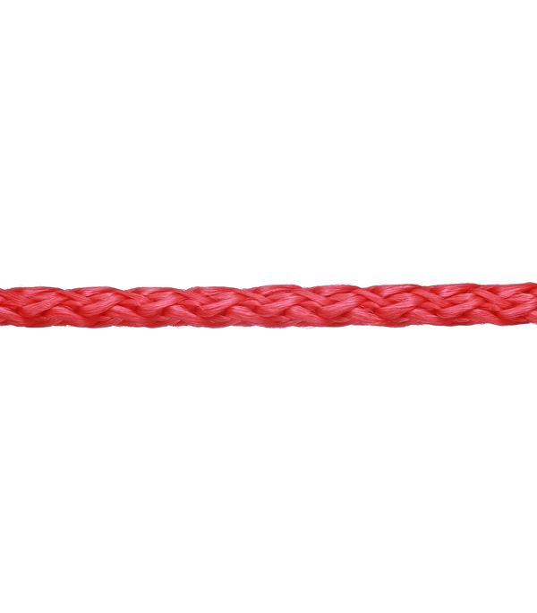 Плетеный шнур полипропиленовый повышенной плотности цветной d4 мм