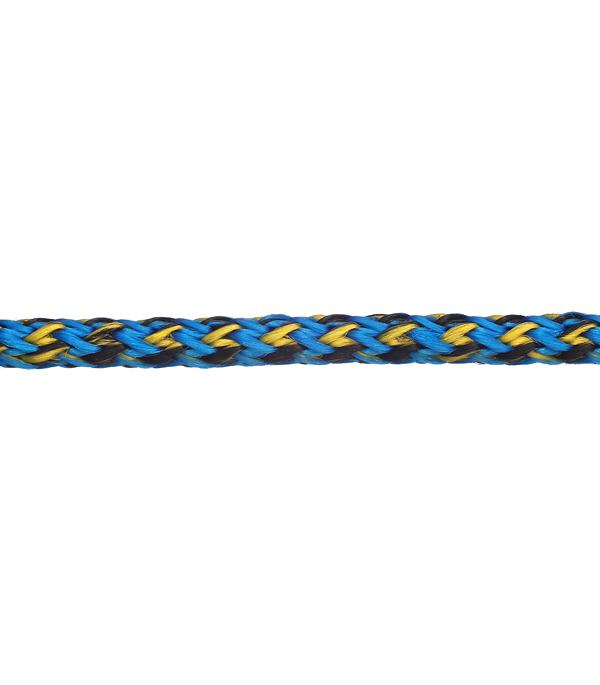 Плетеный шнур полипропиленовый повышенной плотности цветной d5 мм
