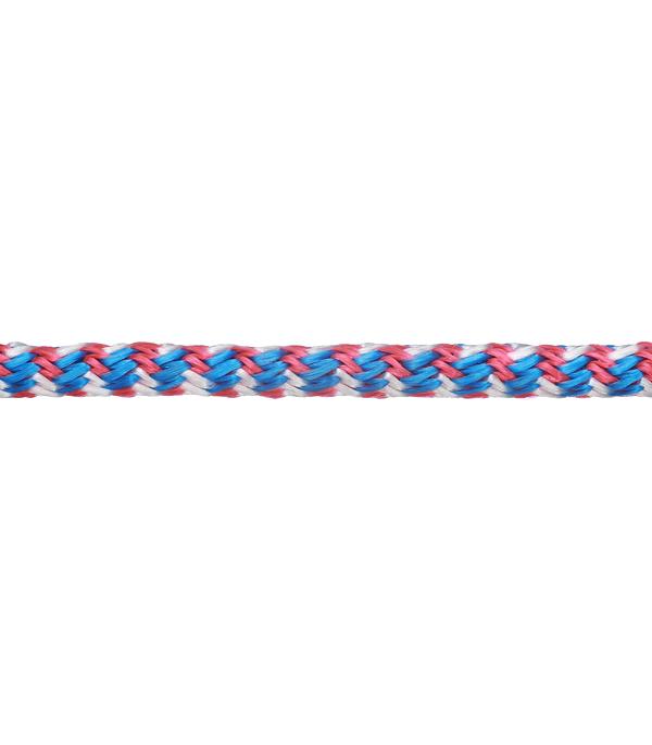 Плетеный шнур полипропиленовый повышенной плотности цветной d6 мм