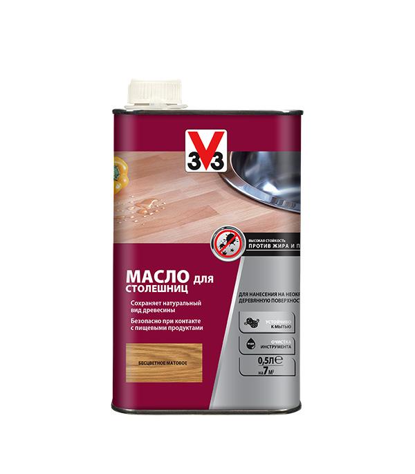 Масло V33  для столешниц бесцветное 0,5 л недорого