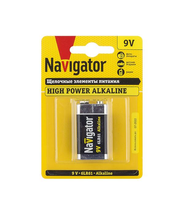 Батарейка Navigator крона 6LR61/6F22 9 В 500 мАч (1 шт.) цена