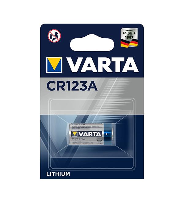 цена на Батарейка VARTA CR123A (1 шт.)