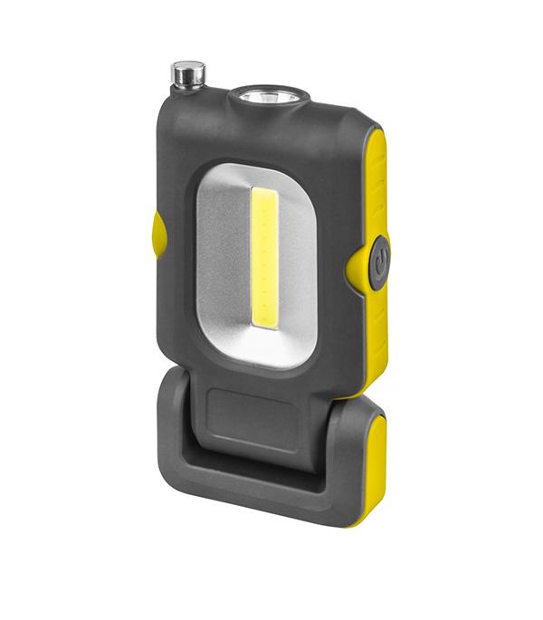 Фонарь подвесной Navigator (140831) светодиодный 1+1 LED 4 Вт аккумуляторный Li-pol 850 мАч пластик