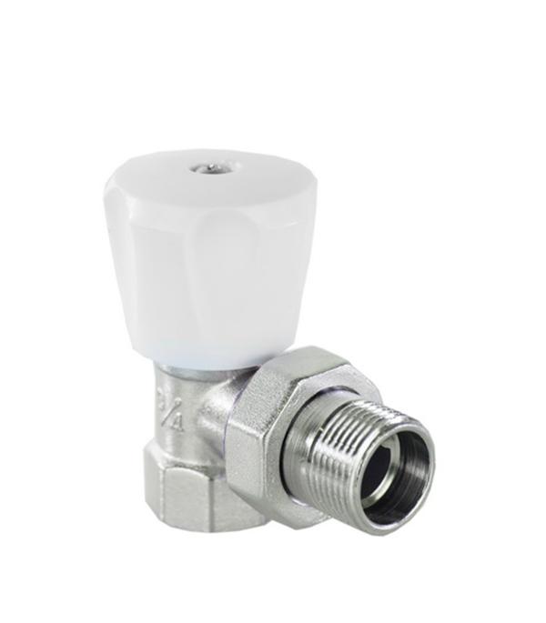 Клапан (вентиль) регулирующий ручной угловой Valtec (VT.007.LN.04)