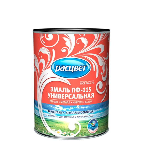 цена на Эмаль ПФ-115 голубая универсал Расцвет Empils 0,9 кг