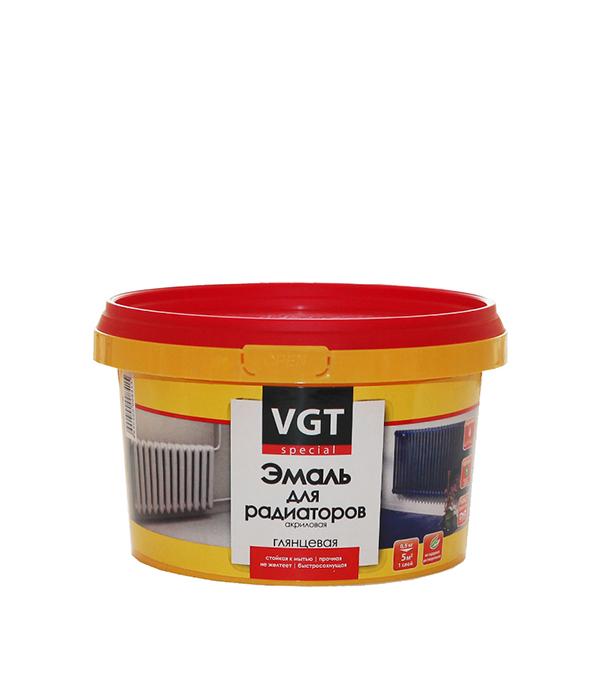 Эмаль для радиаторов в/д VGT глянцевая супербелая Профи 0,5 кг стоимость