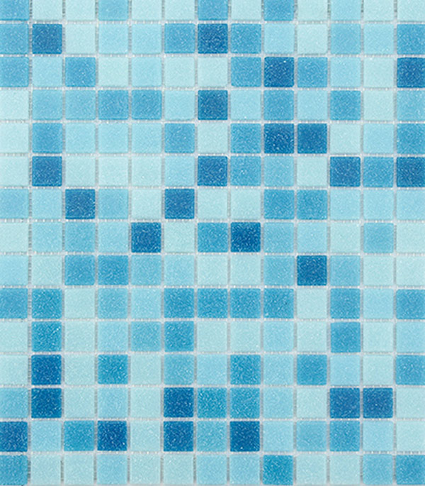 цена на Мозаика из стекломассы 327x327х4 мм Lavelly Lazure/Лазурь (20 шт = 2,139 кв.м)