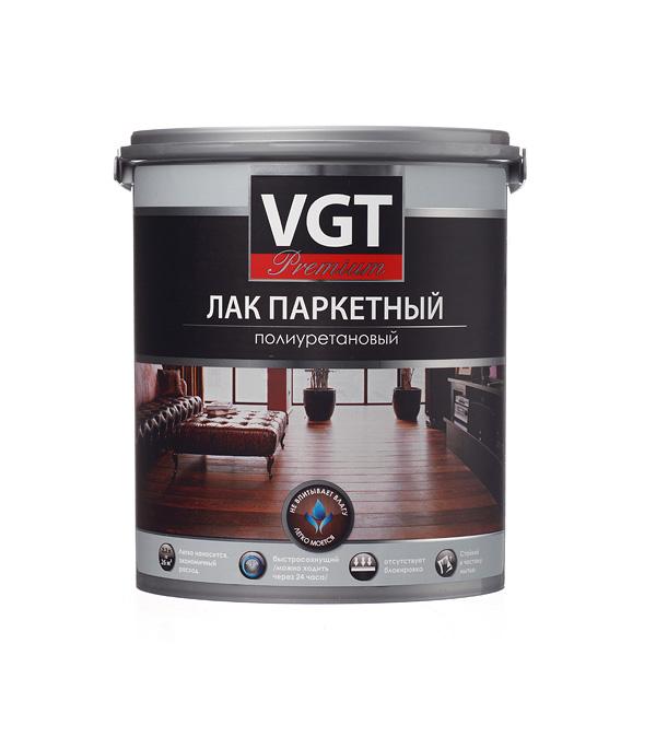 Лак полиуретановый паркетный VGT Premium бесцветный 2,2 кг матовый