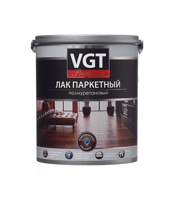 купить Лак полиуретановый паркетный VGT Premium бесцветный 2,2 кг глянцевый онлайн