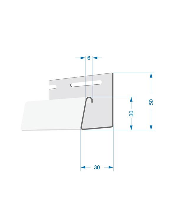 J-профиль Docke 3000 мм палевый