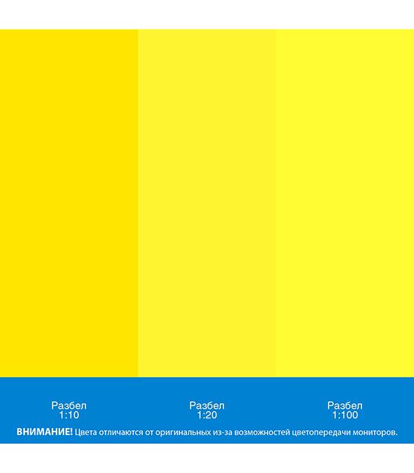 Колер паста Текс Универсал желтая №3 0,1 л