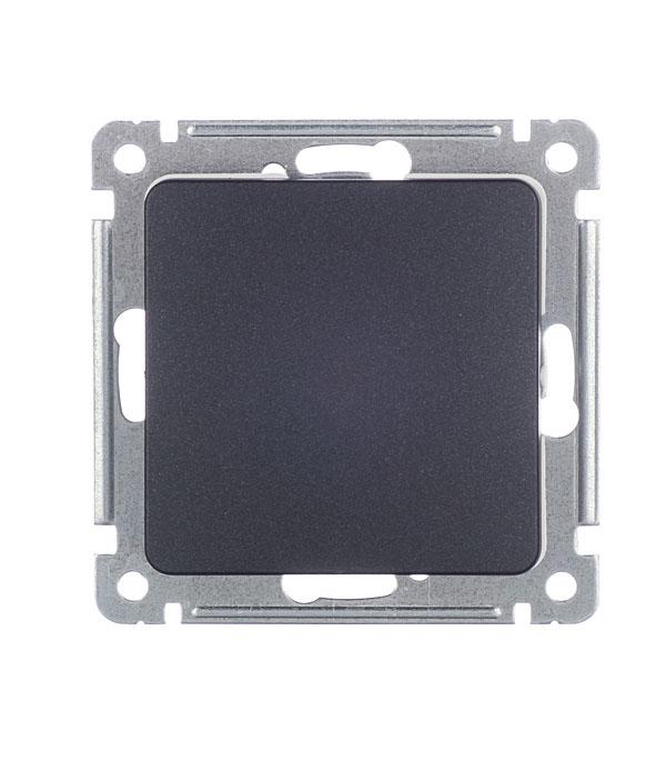 цены Выключатель HEGEL Master ВС10-411-08 одноклавишный скрытая установка черный