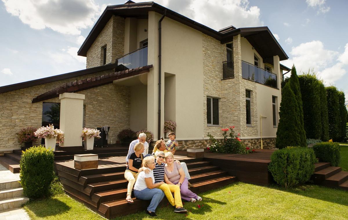 Фото частных домов картинки
