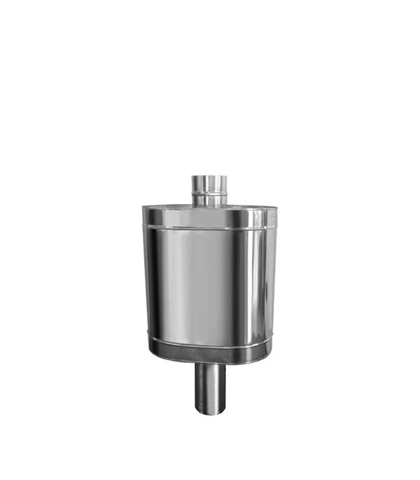 Бак водонагревательный Вулкан для дымоходов d115 мм с трубой 64 л AISI 304