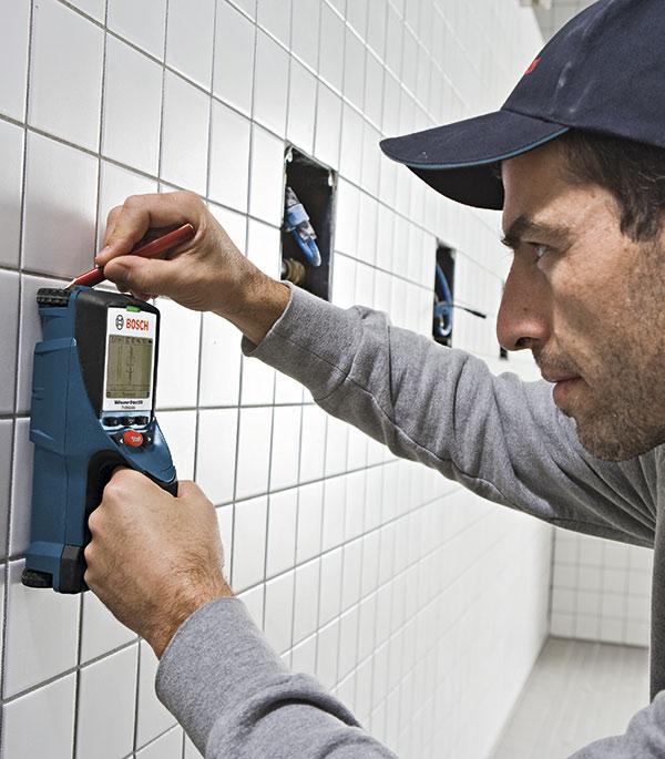 Детектор скрытой проводки Bosch D-tect 150 (00601010005)