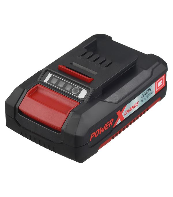 Аккумулятор Einhell POWER X-CHANGE (4511395) 18В 2Ач Li-Ion набор зарядное устройство акб einhell 18в 3 0ач li ion power x change