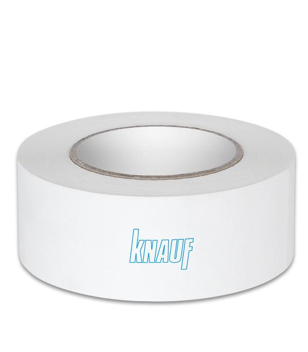 Купить Лента бумажная для швов ГКЛ Курт Кнауф с армирующими волокнами 50 мм х 75м, Knauf, Бумага с армирующими волокнами
