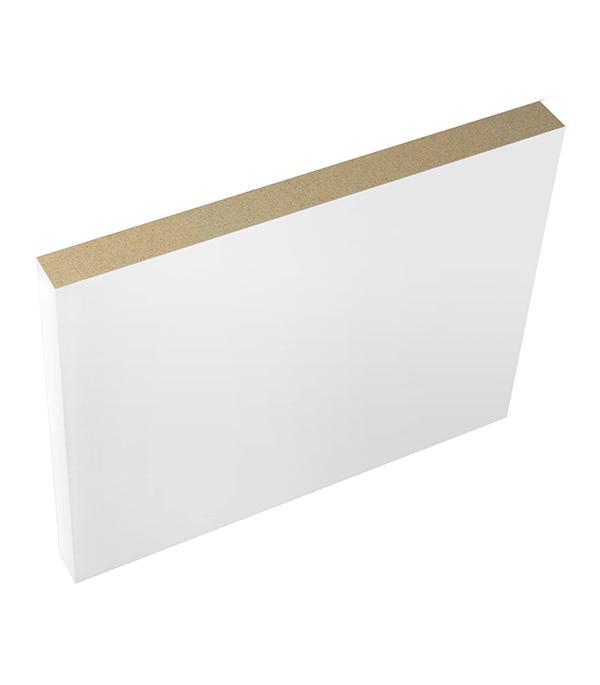 Фото - Доборная планка VellDoris ламинированная финишпленка белая 150х10х2100 мм (1 шт.) доборная планка velldoris ольсен эмаль светло серый 150х10х2150 мм 1 шт