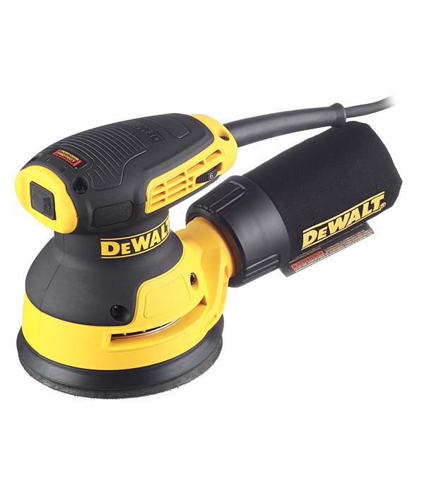 Шлифмашина эксцентриковая электрическая DeWalt DWE6423 280 Вт d125 мм