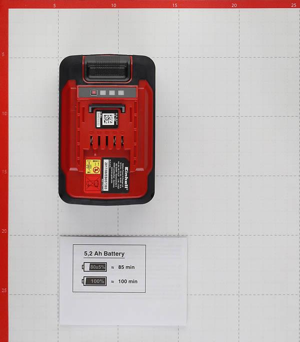 Аккумулятор Einhell POWER X-CHANGE (4511437) 18В 5,2Ач Li-Ion фото