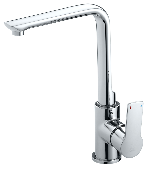 Смеситель для кухни ARGO PREMIUM OLIMP 35-03P однорычажный высокий комплектующие