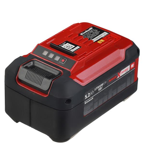 Аккумулятор Einhell POWER X-CHANGE (4511437) 18В 5,2Ач Li-Ion набор зарядное устройство акб einhell 18в 3 0ач li ion power x change