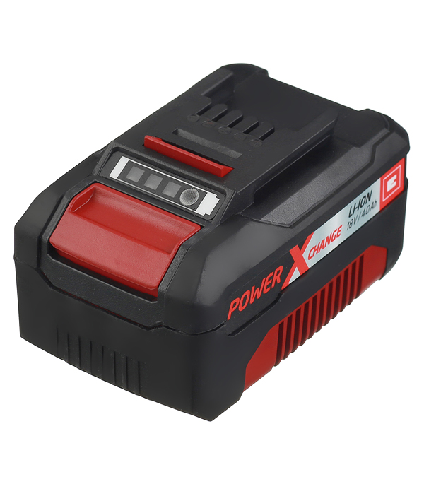Аккумулятор Einhell POWER X-CHANGE (4511396) 18В 4Ач Li-Ion зарядное устройство einhell power x change 4512011 li ion 18в