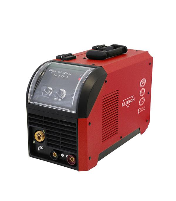 цена на Сварочный аппарат инверторного типа Elitech ИС 220ПН полуавтомат