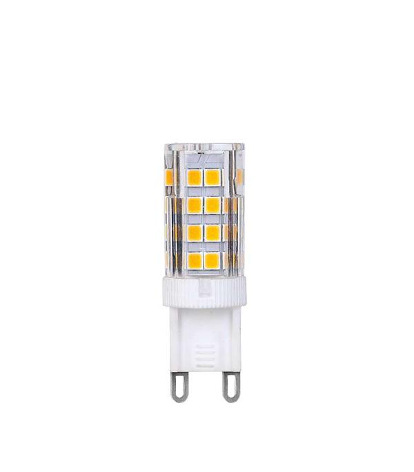 Лампа светодиодная G9 6W JCD капсула 4000K холодный свет лампочка rev led jcd g9 1 6w 3000k теплый свет 220v 32439 3