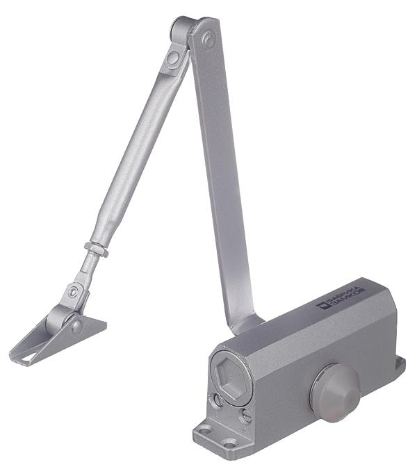Доводчик дверной ФЗ (до 25 кг) серебро