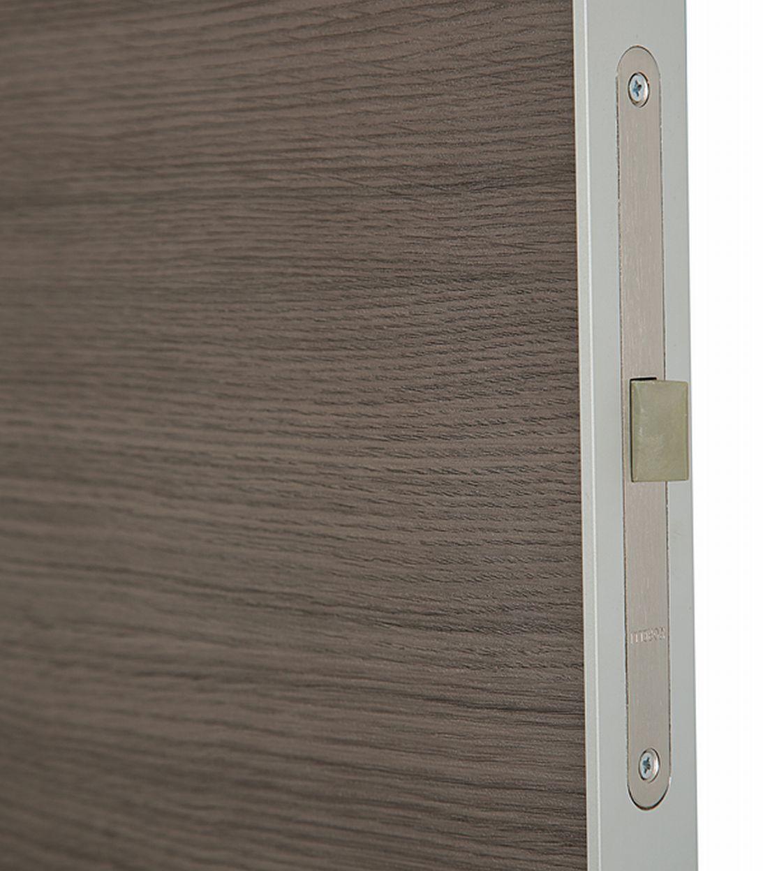Дверное полотно VellDoris TECHNO дуб неаполь поперечный глухое экошпон 600x2000 мм фото